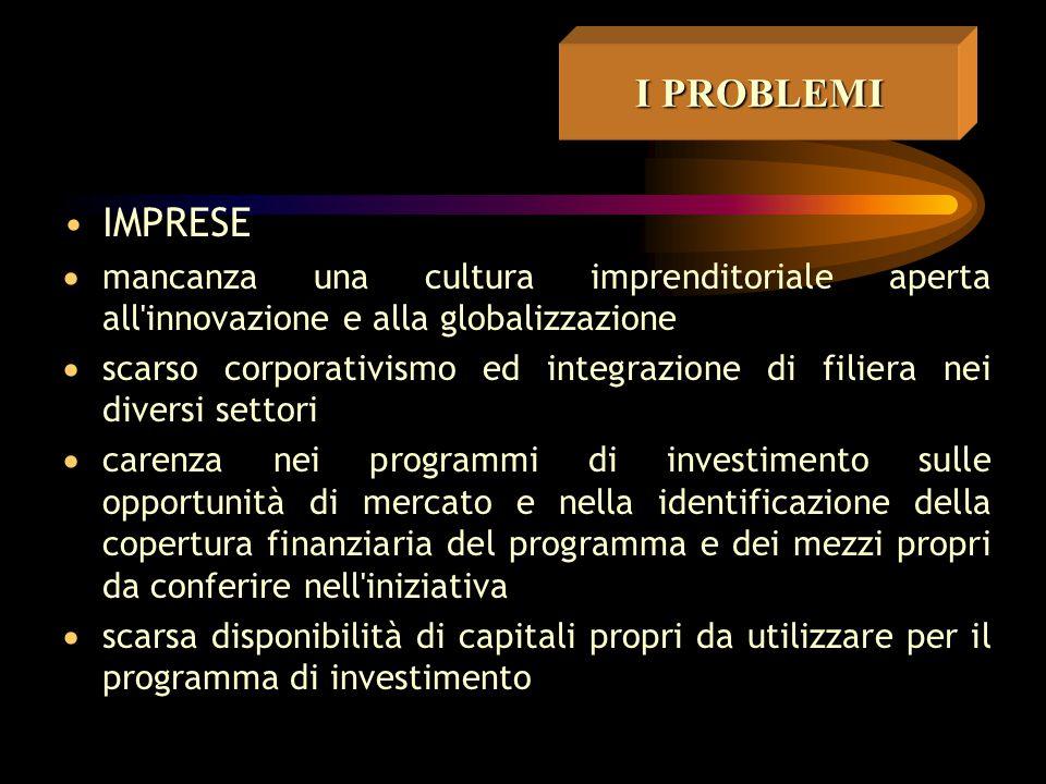 ASSISTENZA/CONSULENZA  scarsa disponibilità di professionalità interne alle amministrazioni  inadeguata assistenza da parte delle società convenzion