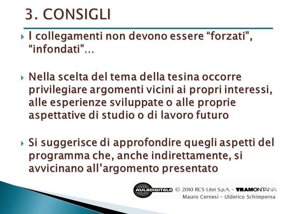 Titolo  Indice  Introduzione  Trattazione  Conclusioni  Bibliografia Mauro Cernesi – Ulderico Schimperna