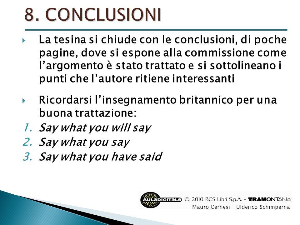  Capiluppi, M.(2008), Laboratorio per l'esame di Stato, Tramontana, RCS Scuola, Milano.