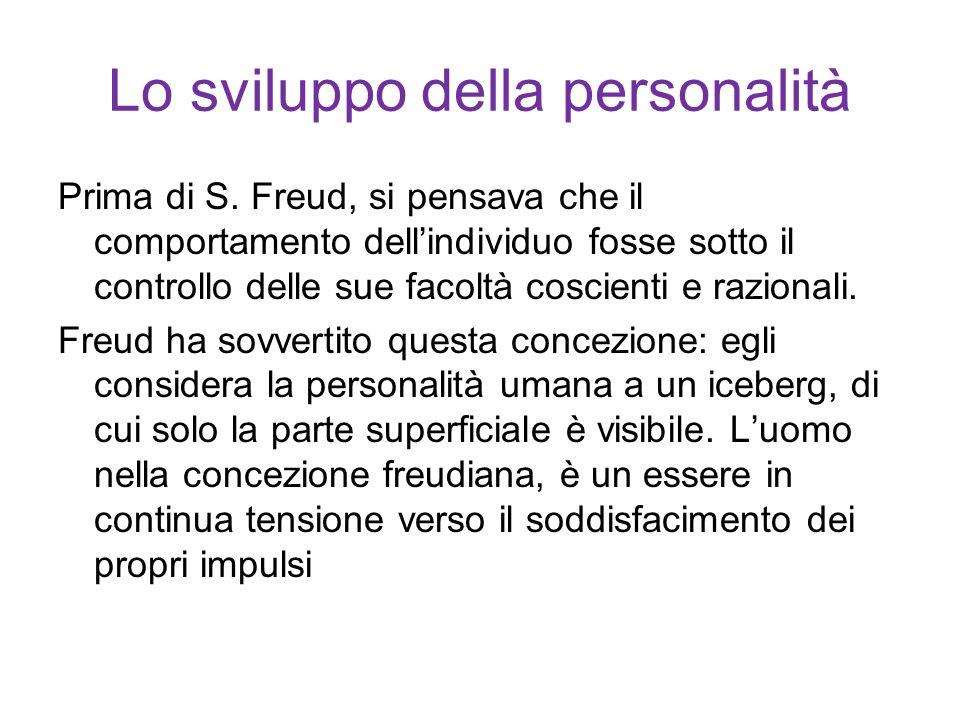 Teorie psicoanalitiche S.