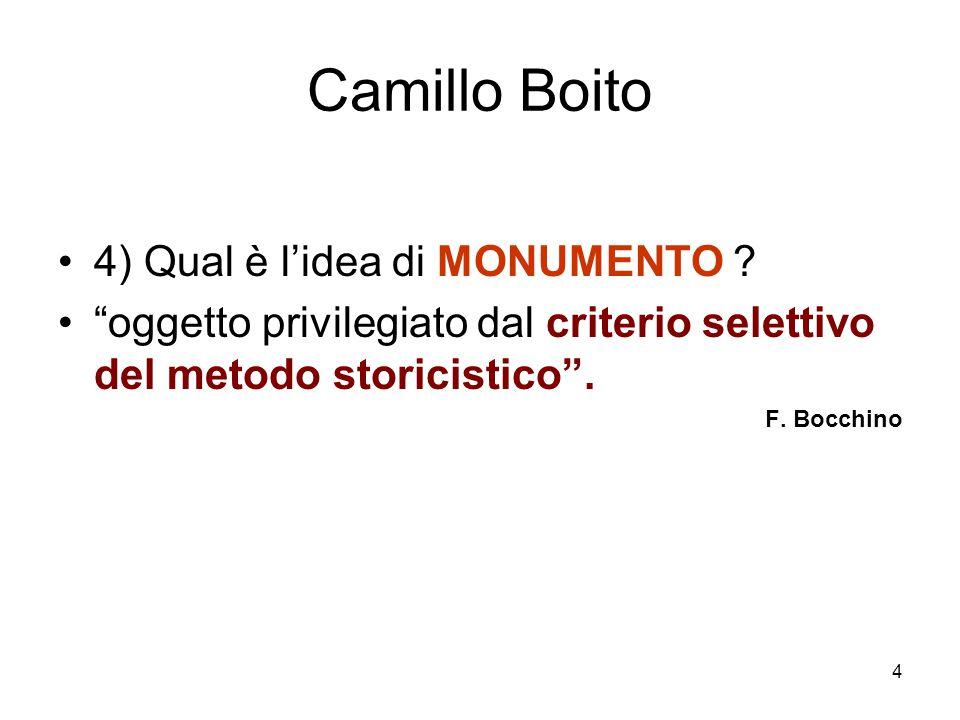 5 Camillo Boito clima culturale - ambiente familiare - formazione europea - Padova e Venezia - B.