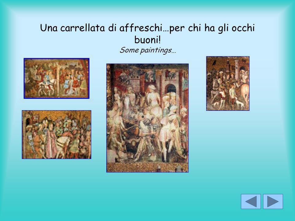 Una carrellata di affreschi…per chi ha gli occhi buoni! Some paintings…
