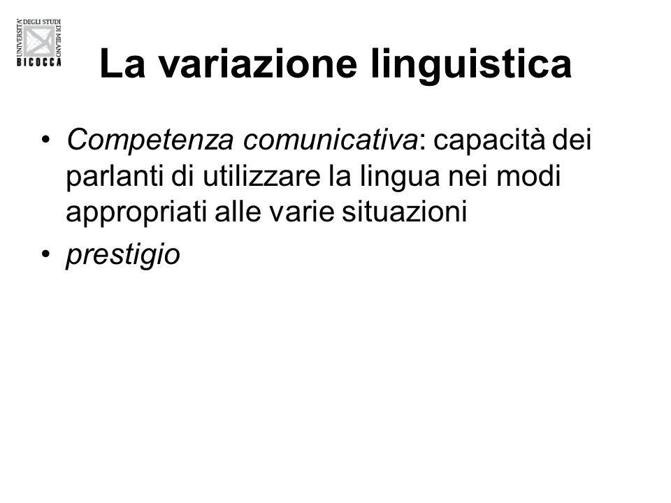 Storia linguistica dell'Italia disunita Pietro Trifone (2010) è un luogo comune che la storia linguistica italiana sia stata contrassegnata a lungo da una duplicità radicale, quasi schizofrenica, tra i piani comunicativi dello scritto e del parlato.