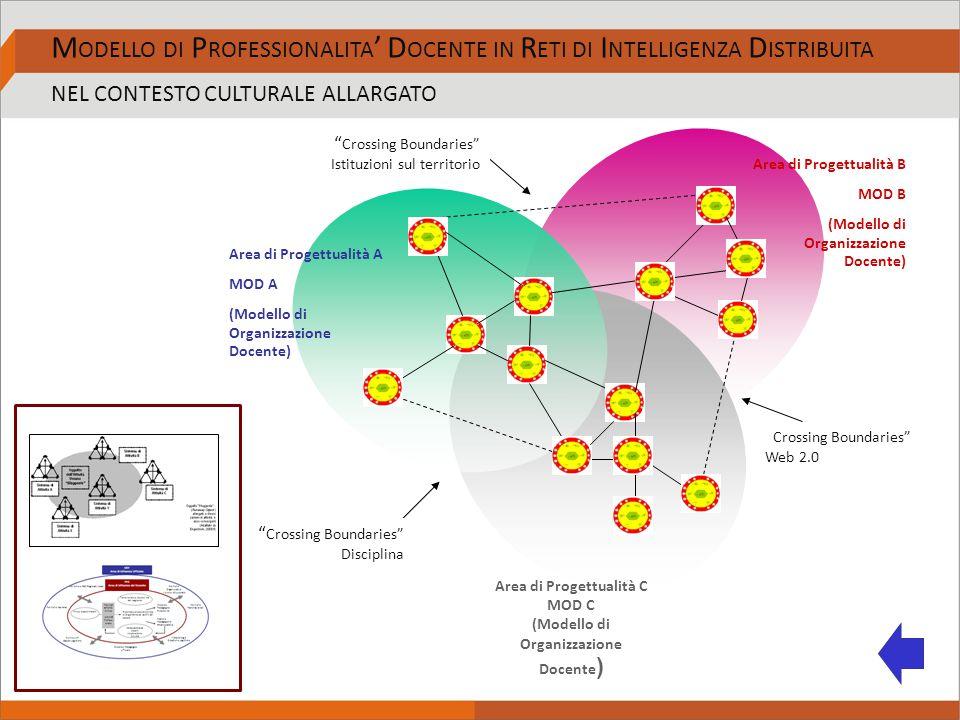 Area di Progettualità A MOD A (Modello di Organizzazione Docente) Area di Progettualità B MOD B (Modello di Organizzazione Docente) Area di Progettu