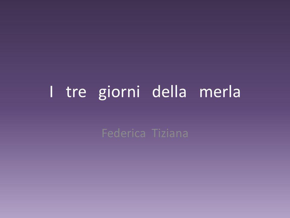 I tre giorni della merla Federica Tiziana