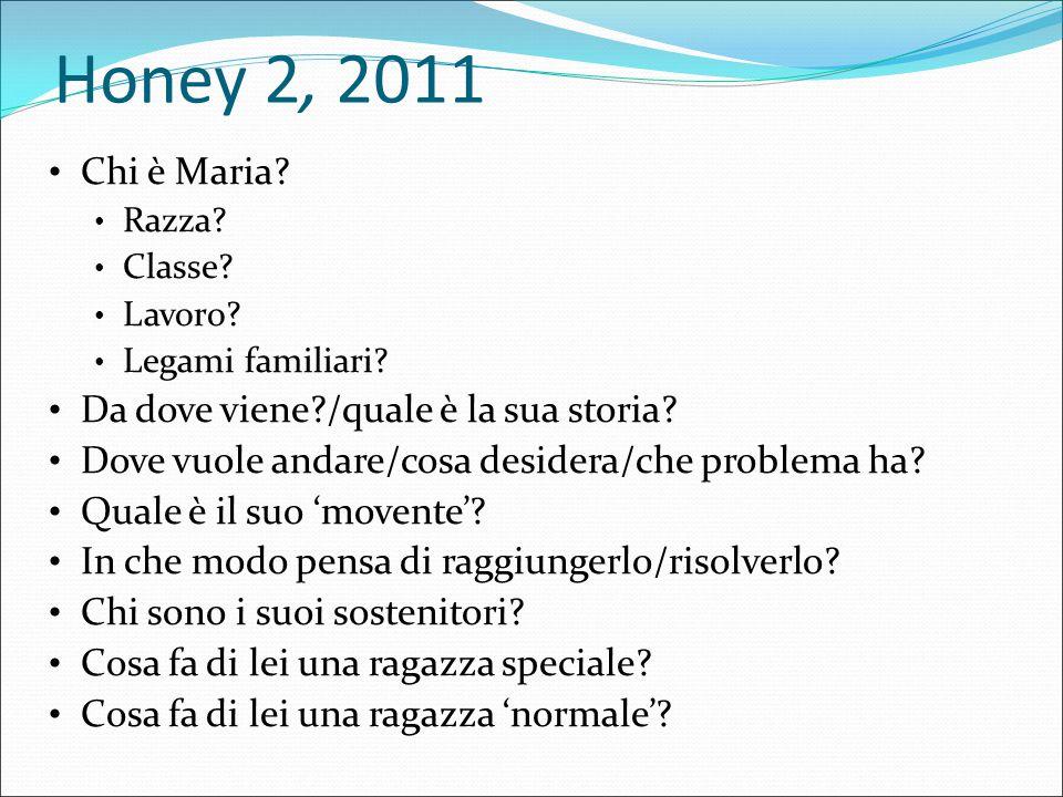 Honey II, 2011 Chi è Maria.Razza.