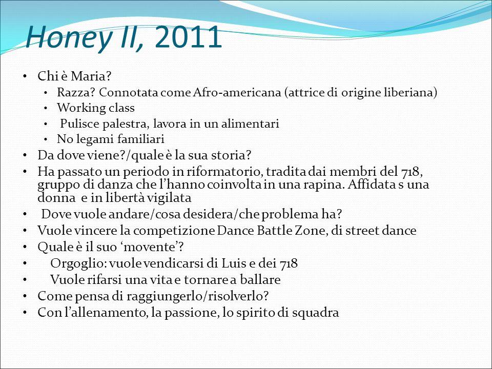 Honey II, 2011 Chi sono i suoi sostenitori.