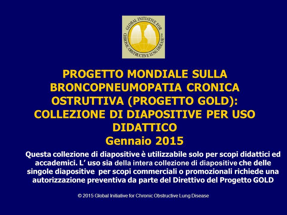 © 2015 Global Initiative for Chronic Obstructive Lung Disease PROGETTO MONDIALE SULLA BRONCOPNEUMOPATIA CRONICA OSTRUTTIVA (PROGETTO GOLD): COLLEZIONE