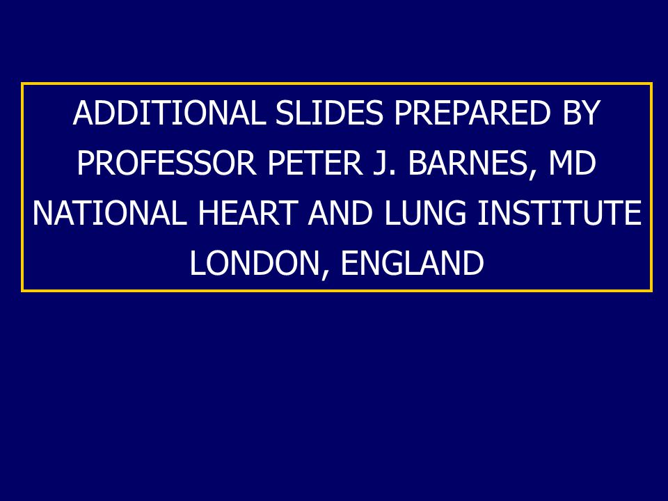 ADDITIONAL SLIDES PREPARED BY PROFESSOR PETER J.