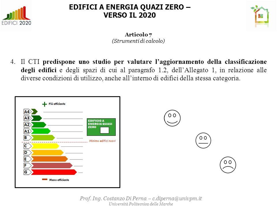Tabella 1- Trasmittanza termica U delle strutture opache verticali, verso l'esterno, gli ambienti non climatizzati o contro terra ALLEGATO 1 –APPENDICE A 1.PARAMETRI DELL'EDIFICIO DI RIFERIMENTO 1.1 Parametri relativi al fabbricato Tabella 2 - Trasmittanza termica U delle strutture opache orizzontali o inclinate di copertura, verso l'esterno e gli ambienti non climatizzati Zona climatica U (W/m 2 K) 2015 (1) 2019/2021 (2) A e B0,380,35 C0,360,33 D0,300,26 E0,250,22 F0,230,20 Zona climatica U (W/m 2 K) 2015 (1) 2019/2021 (2) A e B0,450,43 C0,380,34 D 0,29 E0,300,26 F0,280,24