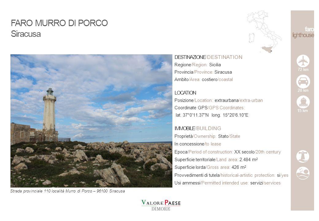 faro lighthouse DESTINAZIONE/DESTINATION Regione/Region: Sicilia Provincia/Province: Trapani Ambito/Area: Isole Egadi/Egadi islands LOCATION Posizione/Location: extraurbana/extra-urban Coordinate GPS/GPS Coordinates: lat.