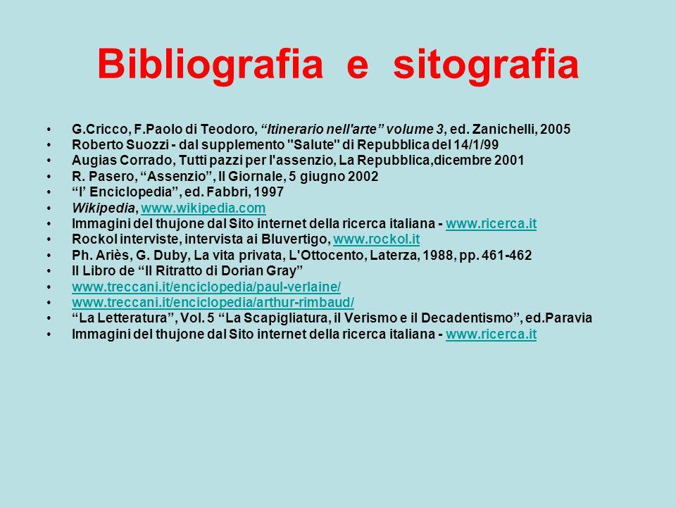 """Bibliografia e sitografia G.Cricco, F.Paolo di Teodoro, """"Itinerario nell'arte"""" volume 3, ed. Zanichelli, 2005 Roberto Suozzi - dal supplemento"""