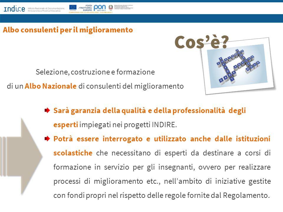 Il primo output dei tre percorsi INDIRE/Università MIGLIORARE LA SCUOLA Autovalutazione, valutazione e miglioramento per lo sviluppo della qualità (a cura di Massimo Faggioli, Parma 2014)