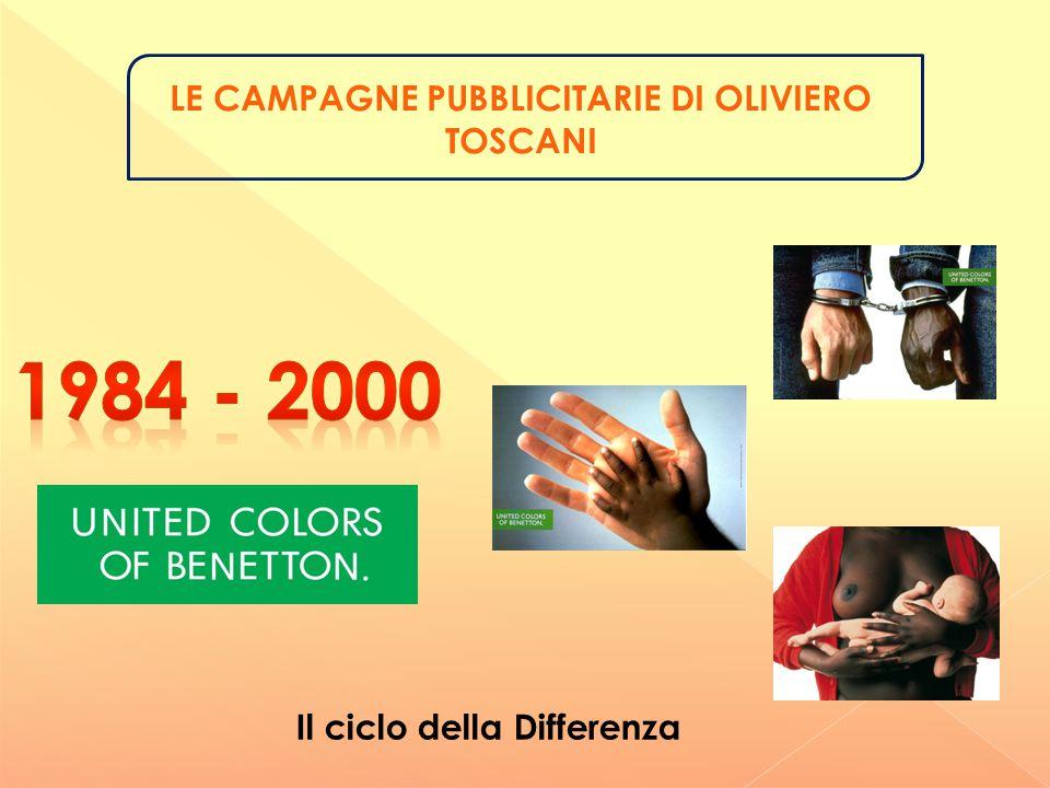 La comunicazione pubblicitaria di Oliviero Toscani non si può considerare non convenzionale perché non utilizza i metodi e le tecniche del marketing non convenzionale.