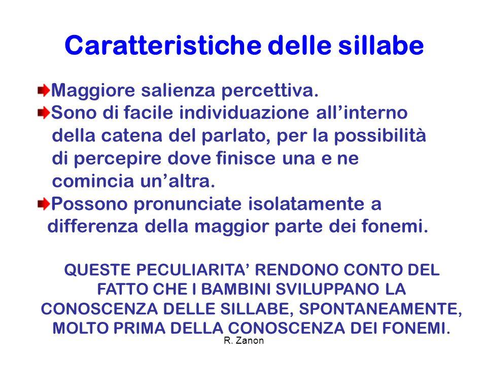 COME? ATTRAVERSO ALCUNE ATTIVITÀ R. Zanon
