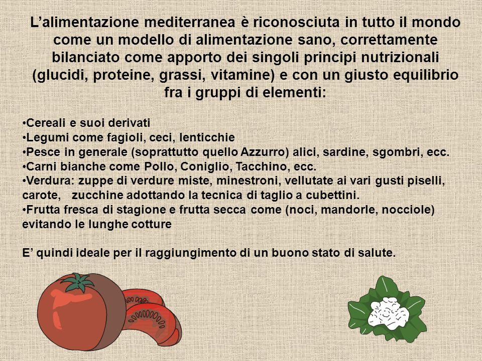 Ancora sulla Dieta Mediterranea Queste osservazioni furono alla base di un programma di ricerche che prese in esame le abitudini alimentari del Giappo