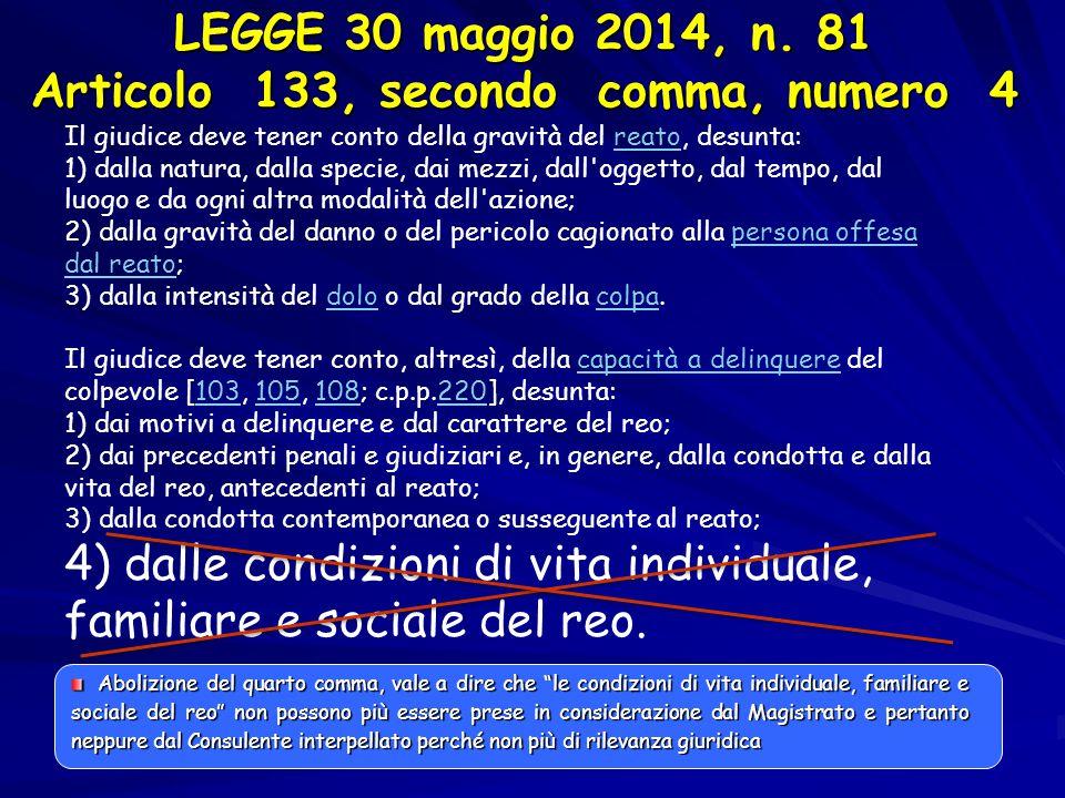 RECIDIVI versus NON RECIDIVI Dati Regione Lazio Fonte: Referente Regionale – Regione Lazio Dati SMOP: 2012-2013 Motivazioni fallimento: Trasgressione o violazione obblighi M 54 F 4 Età media: 46,42 Dev.
