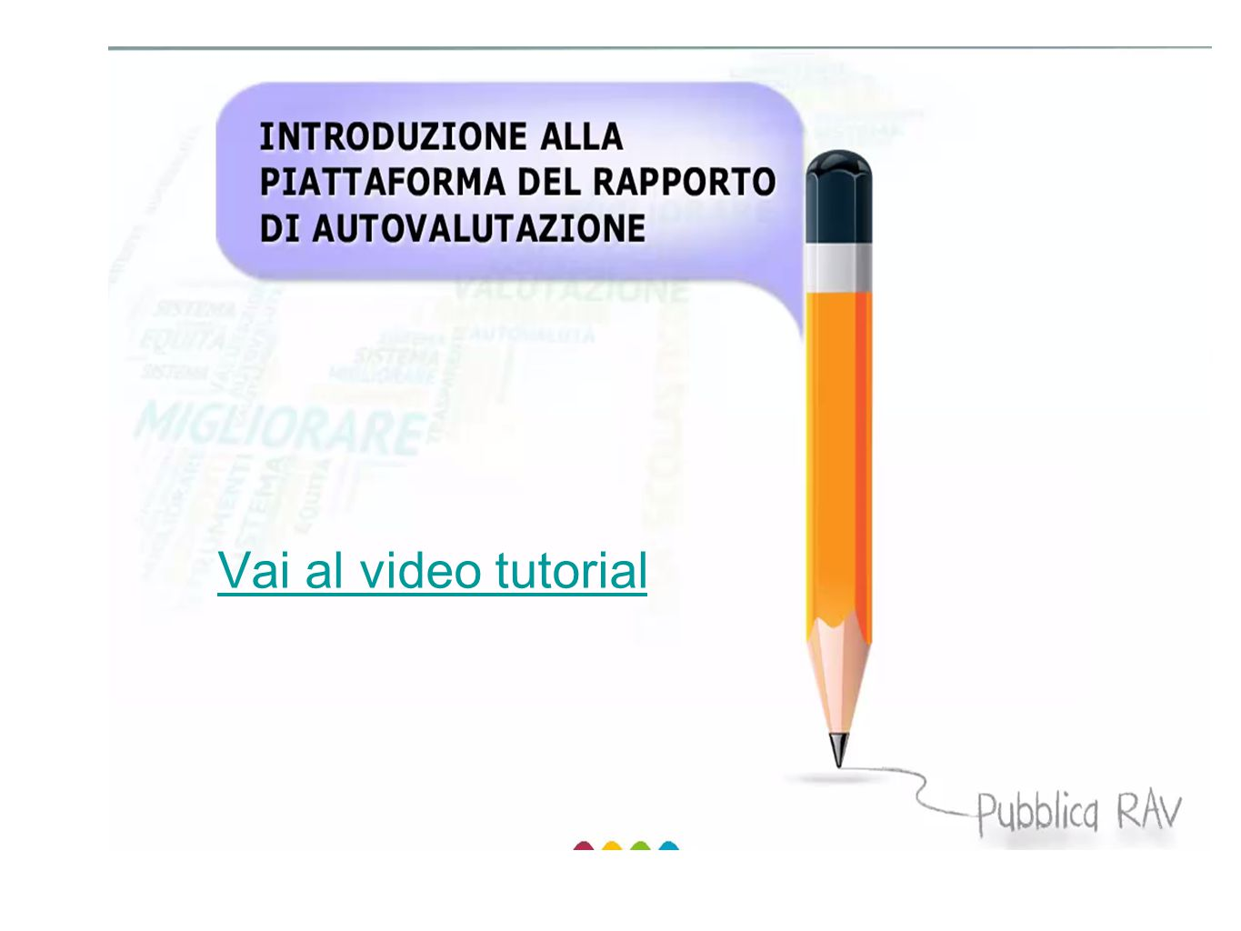 Vai al video tutorial