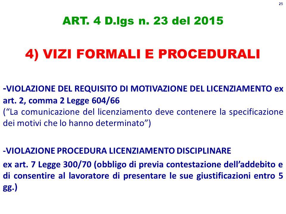 ART. 4 D.lgs n.