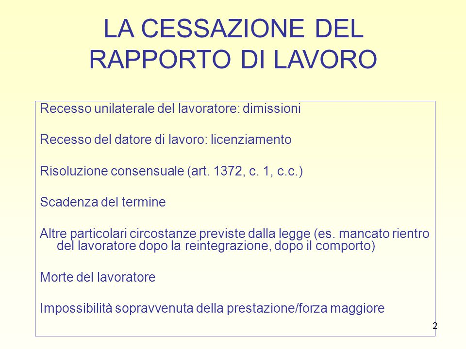 23 LICENZIAMENTO DISCRIMINATORIO (artt.4 L. n. 604/66, 15 S.L.