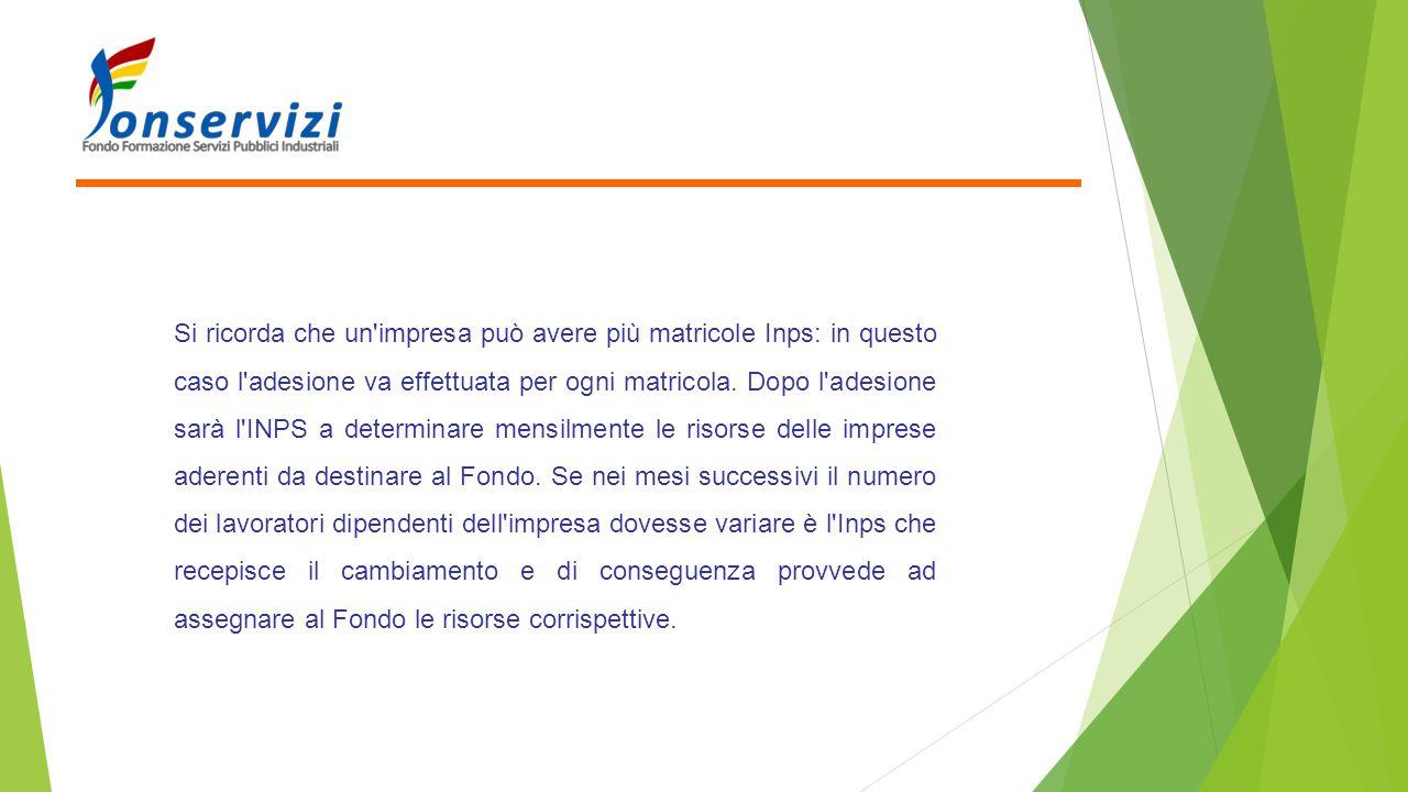 PROCEDURA DI REVOCA Se un' impresa aderente ad un altro Fondo interprofessionale intende aderire a Fonservizi la procedura da seguire è la seguente:  1.