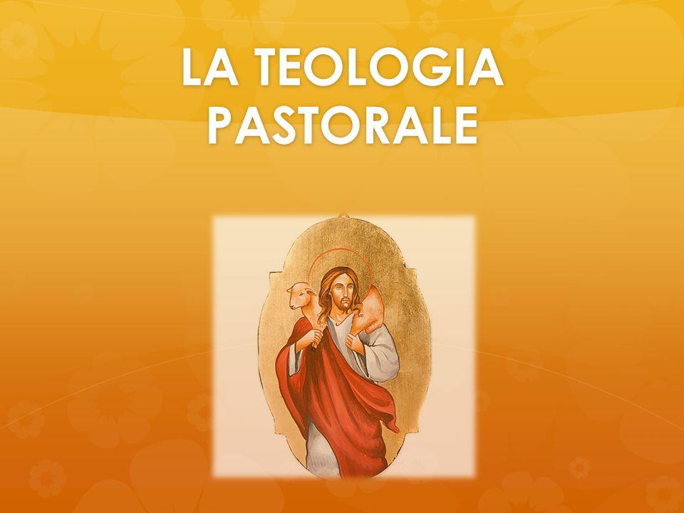 Cosa si intende per pastorale ? Azione pastorale Teologia pastorale DISTINZIONE TRA: