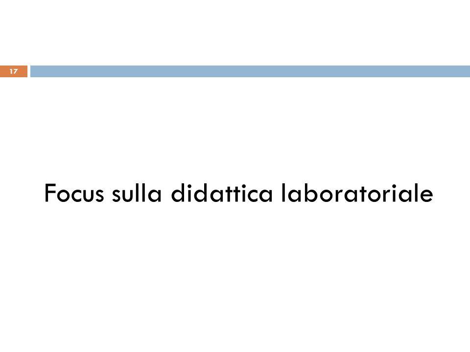17 Focus sulla didattica laboratoriale
