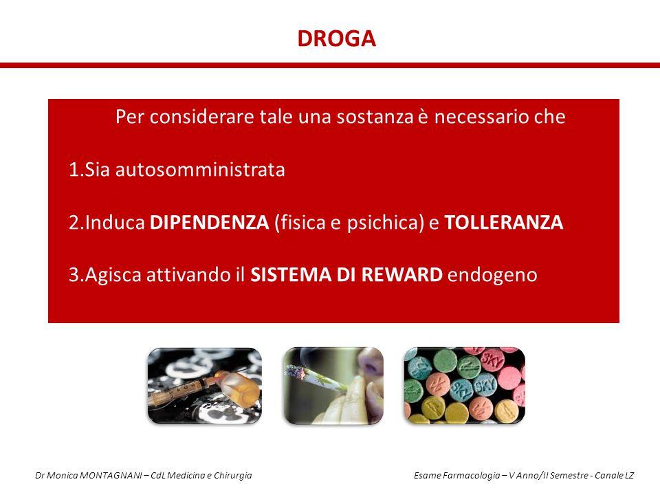 AMFETAMINE TOSSICODIPENDENZA 1)Tolleranza acuta, o tachifilassi, in misura più intensa della cocaina.