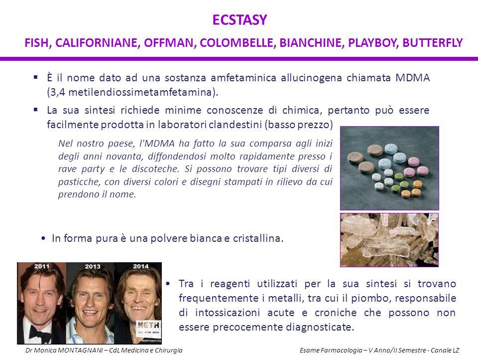  È il nome dato ad una sostanza amfetaminica allucinogena chiamata MDMA (3,4 metilendiossimetamfetamina).  La sua sintesi richiede minime conoscenze