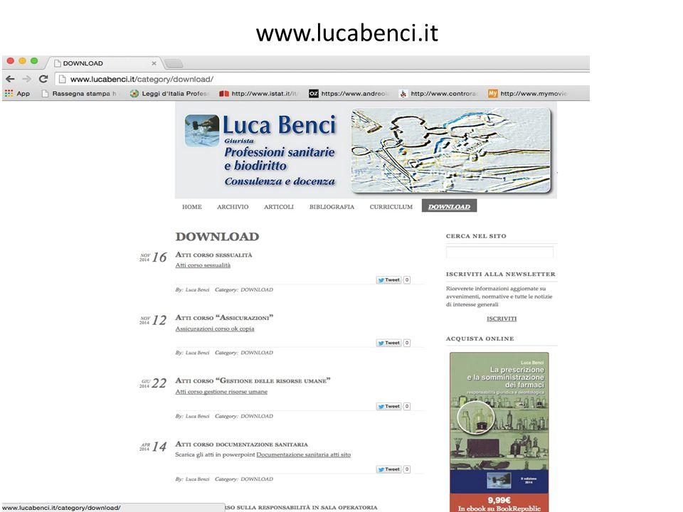 www.lucabenci.it