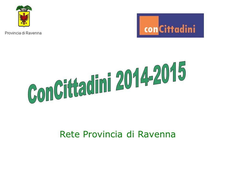 AZIONI COLLEGATE DEI PARTNERS Provincia di Ravenna I rappresentanti del C.C.R.