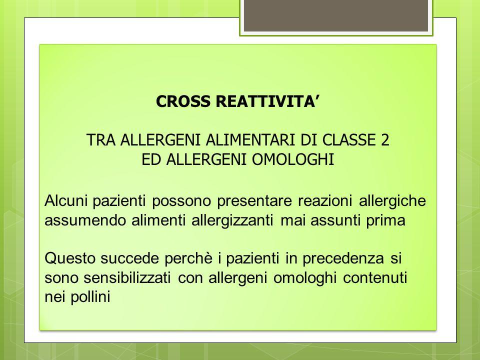 CLASSIFICAZIONE DELLE MOLECOLE ALLERGENICHE Le molecole allergeniche si possono ulteriormente classificare in: - GENUINE , vere marcatrici di una determinata fonte (es.
