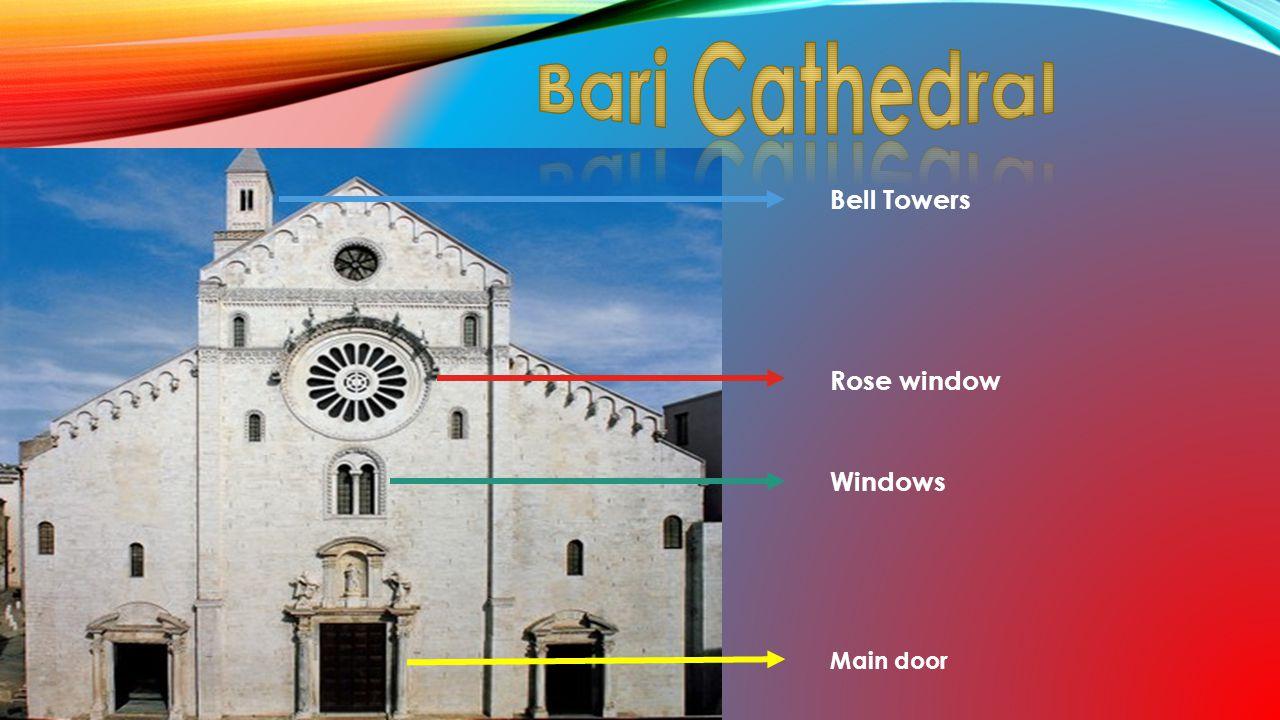 Rose window Windows Bell Towers Main door