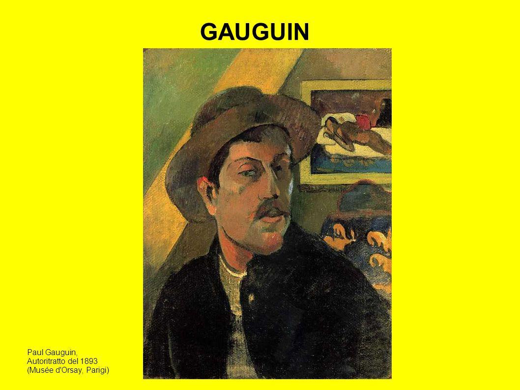 Gauguin vuole dipingere come avrebbe potuto dipingere un uomo primitivo ignorando la storia della pittura e le innovazioni tecniche.