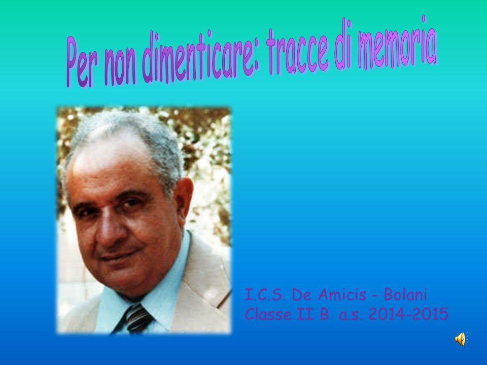I.C.S. De Amicis - Bolani Classe II B a.s. 2014-2015