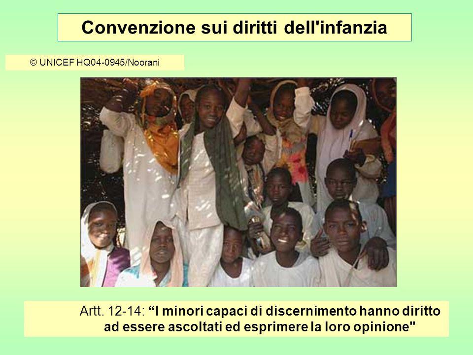 Convenzione sui diritti dell infanzia © UNICEF HQ05-0029/Horner Art.