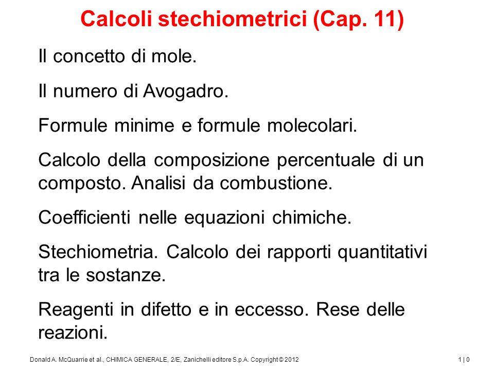 1 | 1Donald A.McQuarrie et al., CHIMICA GENERALE, 2/E, Zanichelli editore S.p.A.