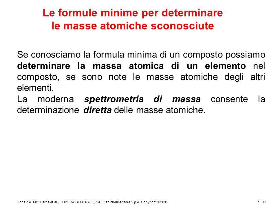 1 | 18Donald A.McQuarrie et al., CHIMICA GENERALE, 2/E, Zanichelli editore S.p.A.