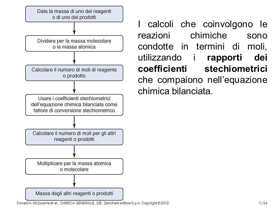 1 | 25Donald A.McQuarrie et al., CHIMICA GENERALE, 2/E, Zanichelli editore S.p.A.