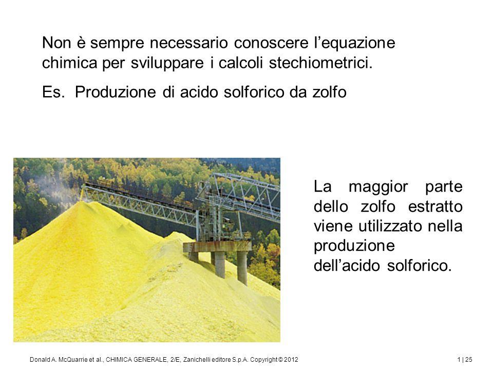 1 | 26Donald A.McQuarrie et al., CHIMICA GENERALE, 2/E, Zanichelli editore S.p.A.