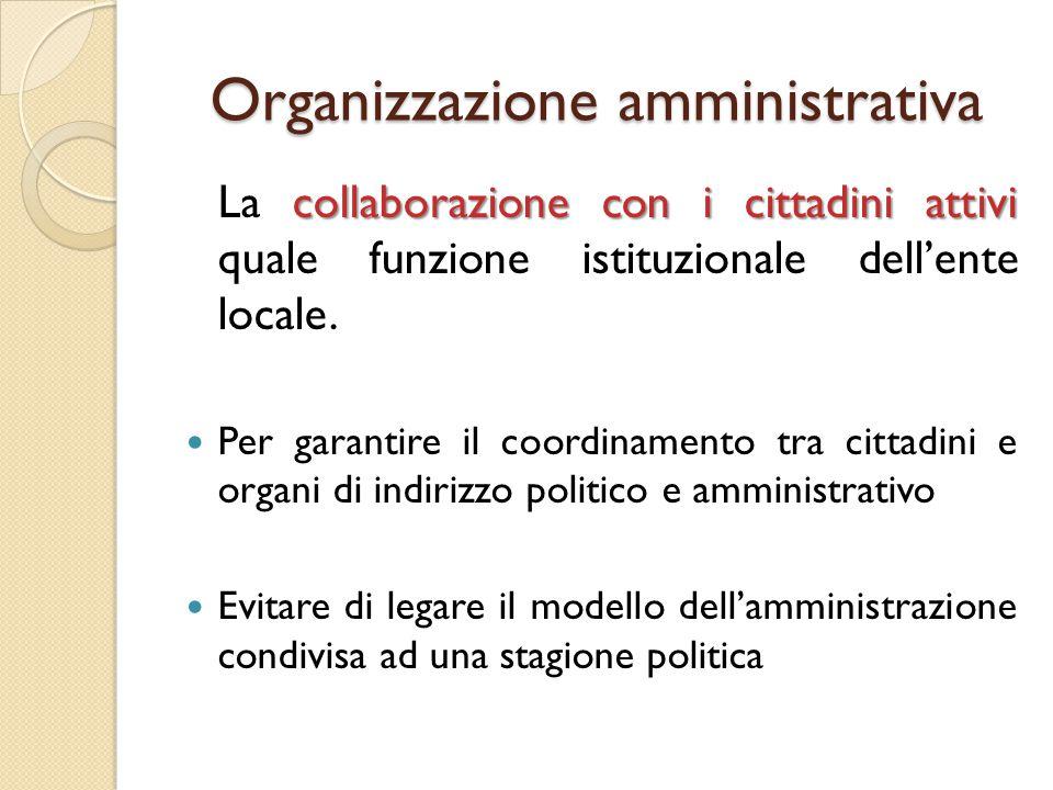Proposta di collaborazione/1 a) Proposta formulata in risposta a una sollecitazione dell'A.C.
