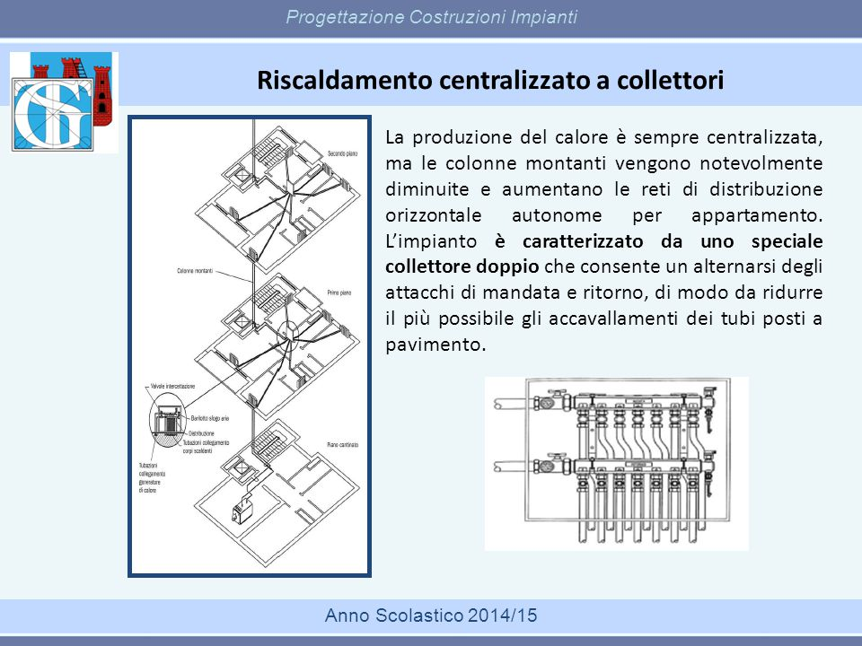 Dimensionamento di una caldaia Progettazione Costruzioni Impianti Anno Scolastico 2014/15