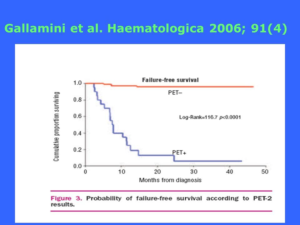 Gallamini et al. Haematologica 2006; 91(4)