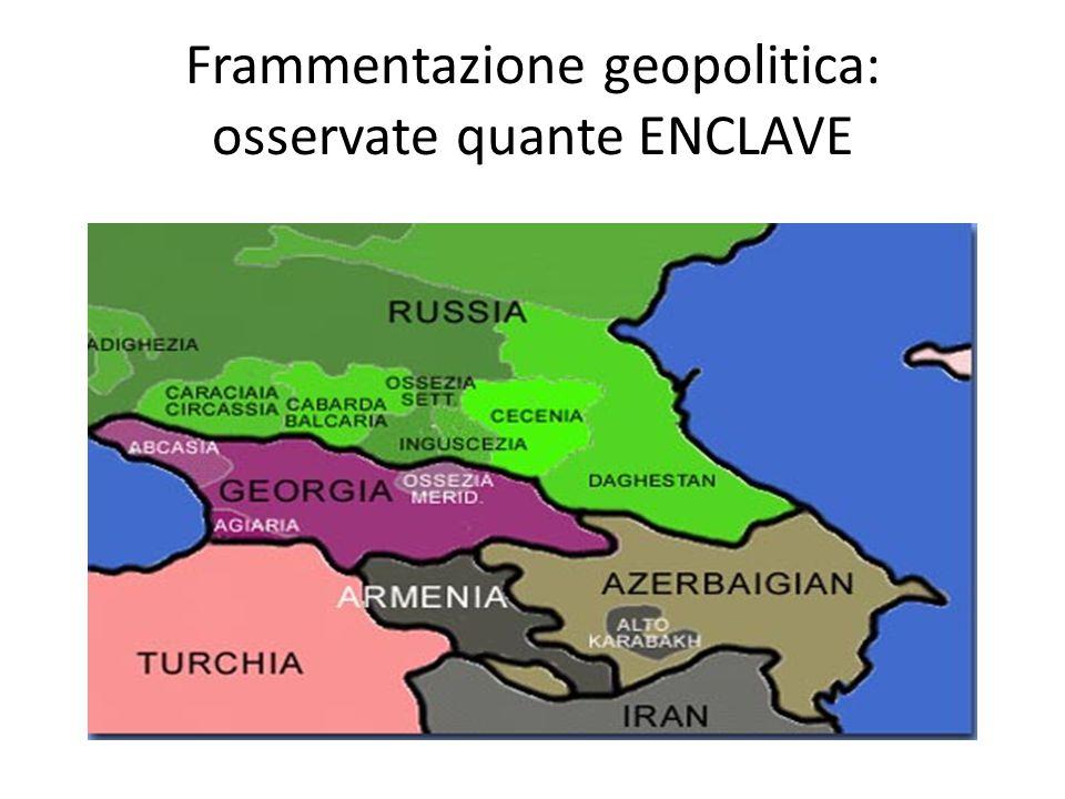 CONFLITTI IN CORSO tra Azerbaigian ed Armenia per il Nagorno-Karabakh a quello tra Russia e Georgia per l'Ossezia del Sud