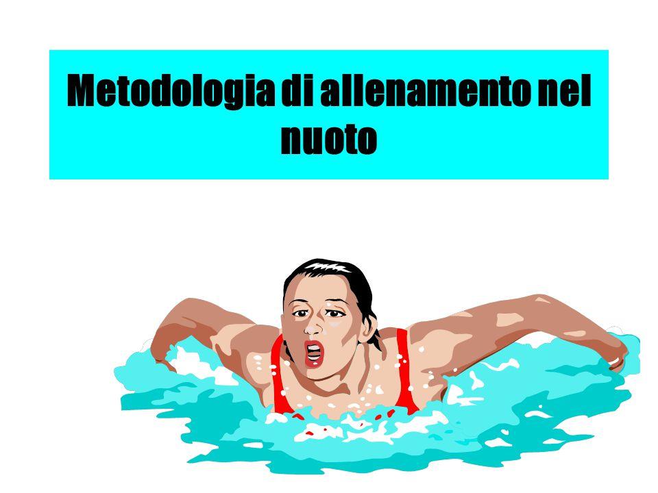 Metodologia di allenamento nel nuoto