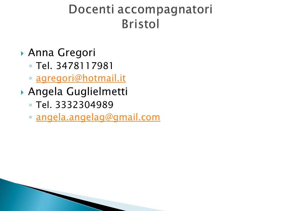  Anna Gregori ◦ Tel.