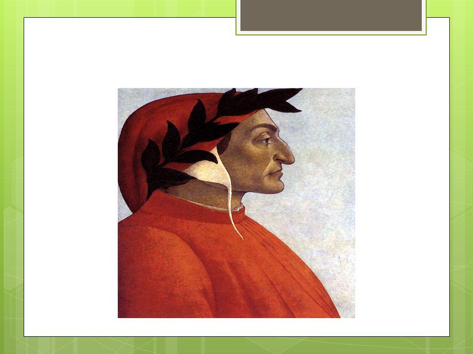 Dante è un guelfo bianco  I Guelfi bianchi intorno alla fine del XIII secolo a Firenze costituivano un partito, rappresentava le forze popolari appartenenti alla nuova borghesi (tra cui finanzieri e mercanti) e sostenevano la supremazia del Papa, ma solamente in campo spirituale, egli infatti non doveva entrare nella vita politica di Firenze.