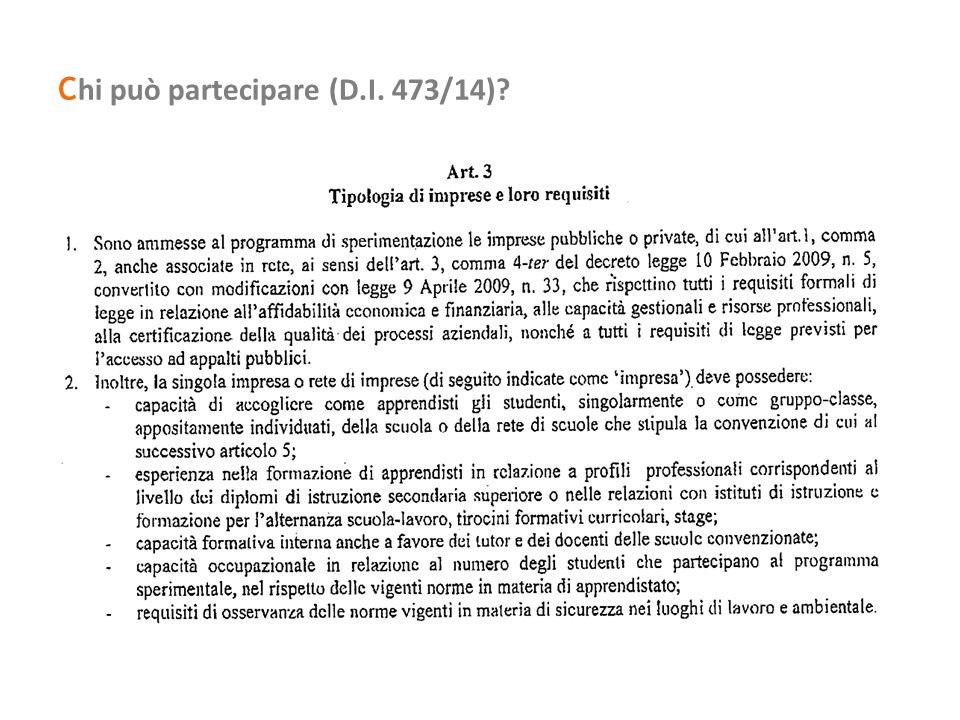  Per gli apprendisti per l'acquisizione dei diploma di ISS sono retribuite solamente le ore effettivamente in imprese e non quelle di impegno scolastico.