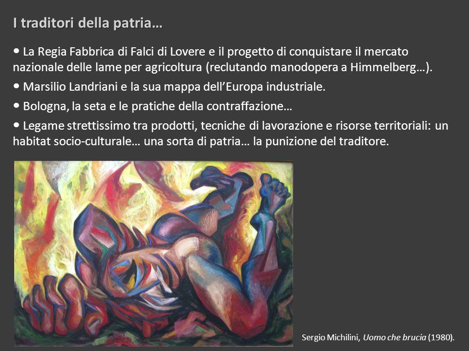 I traditori della patria… Sergio Michilini, Uomo che brucia (1980).