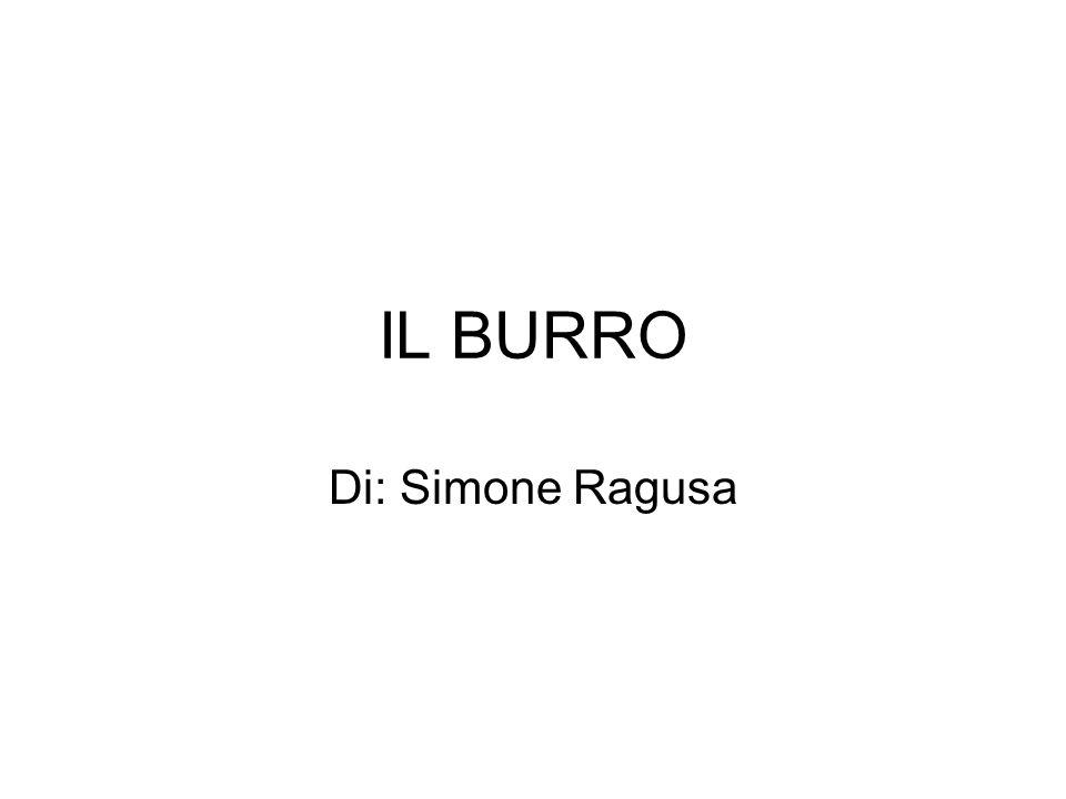 IL BURRO Di: Simone Ragusa